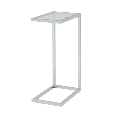 Channing Glass Top Accent Table - Carolina Chair & Table - image 1 of 4