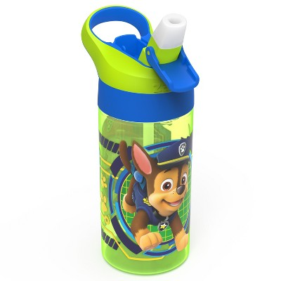 PAW Patrol 17.5oz Plastic Water Bottle Green/Blue - Zak Designs