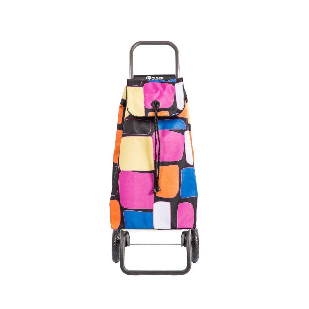 Rolser Bancal Logic 2 Wheeled Foldable Cart Black