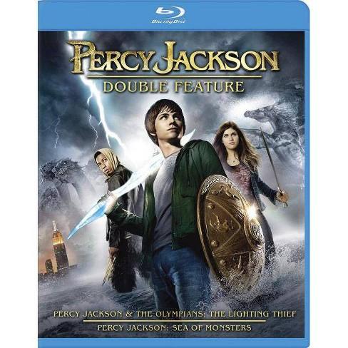 Percy Jackson & the Olympians: The Lightning Thief / Percy Jackson: Sea of  Monsters (Blu-ray)