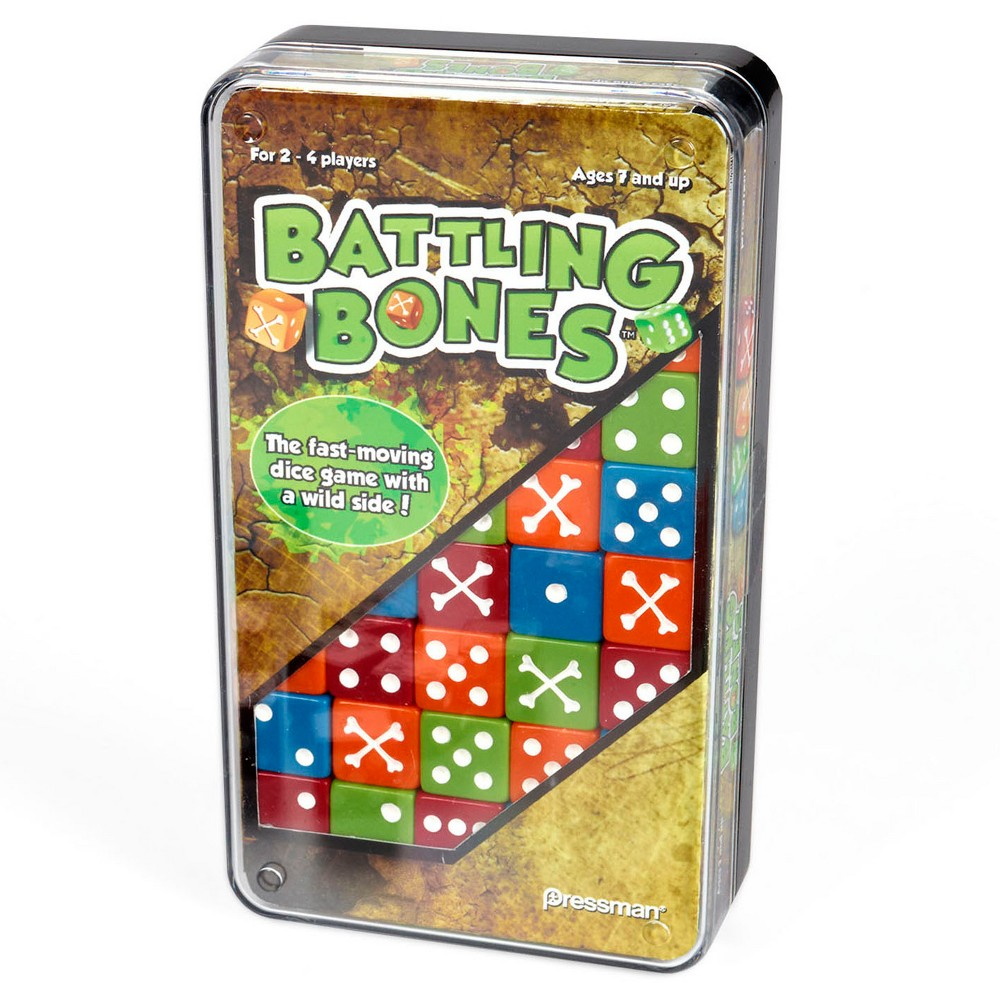 Pressman Toy Battling Bones Game