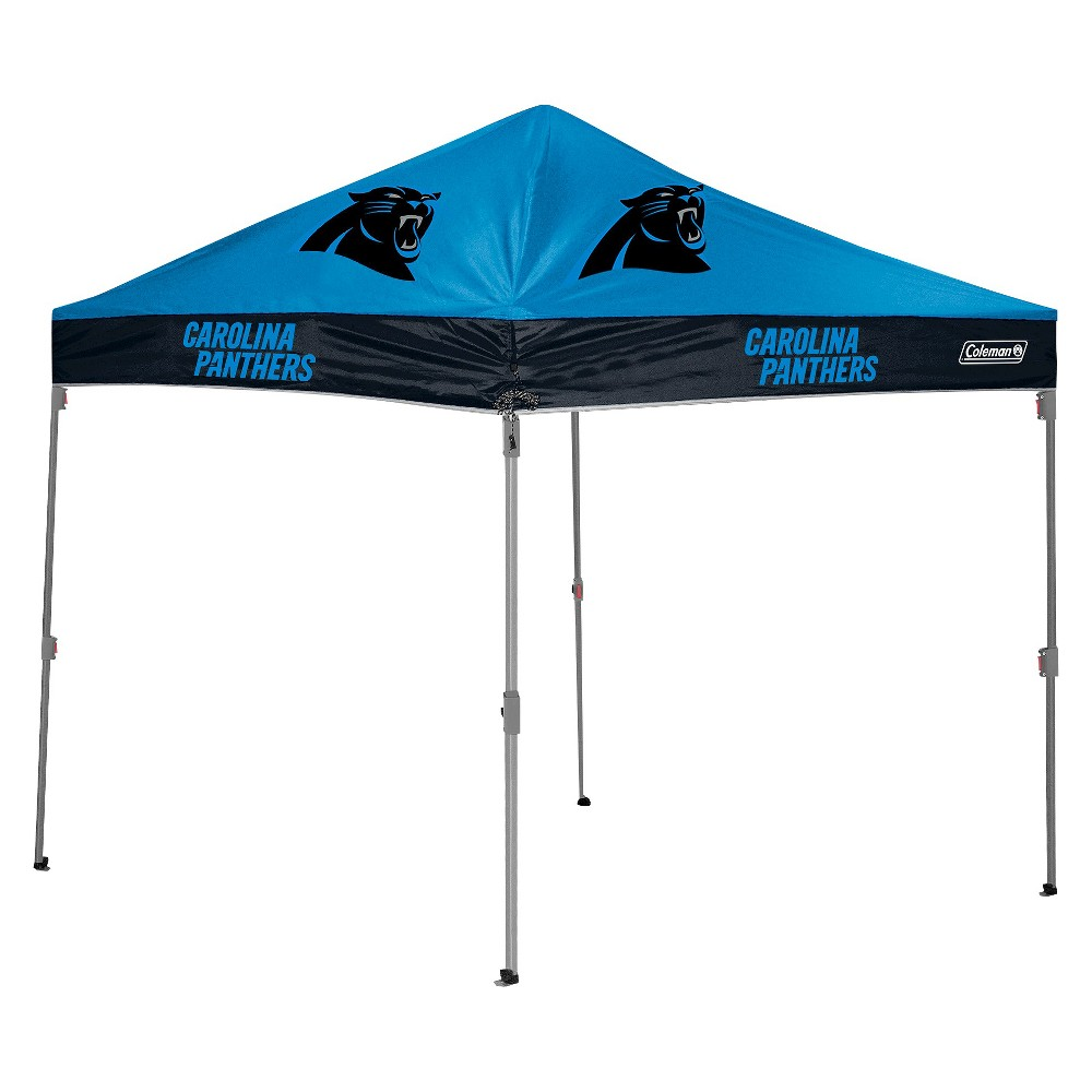 Coleman NFL Carolina Panthers 10'x10' Straight Leg Canopy Tent
