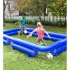 HearthSong Inflatable Soccer Pool Backyard Game for Kids and Adults, Includes Seven Inflatable Balls - image 2 of 4