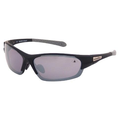 b368e3701b Men s Ironman® Wraparound Oval Sunglasses - Black   Target