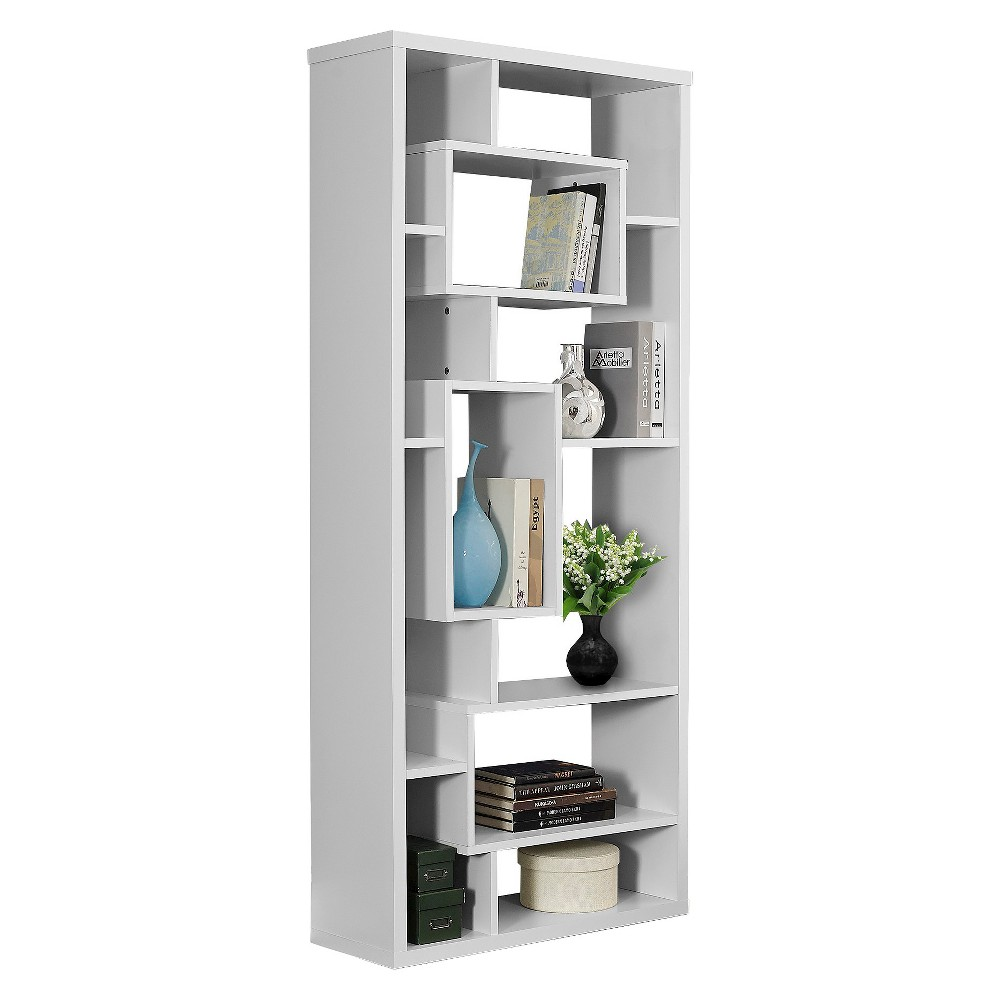 72 Hollow Core Bookcase - White - EveryRoom