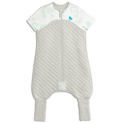 Love To Dream Sleep Suit 1.0 TOG Wearable Blanket - White Clouds