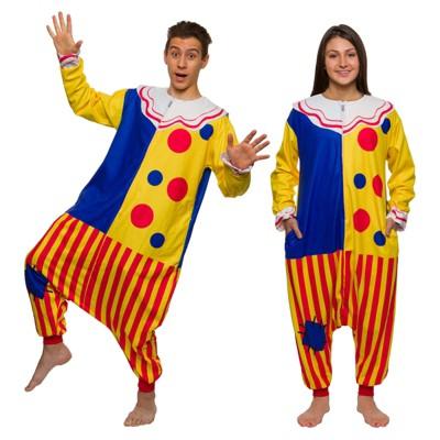 FUNZIEZ! - Clown Adult Unisex Novelty Union Suit