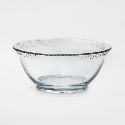 84oz Glass Hobnail Serving Bowl - Threshold™
