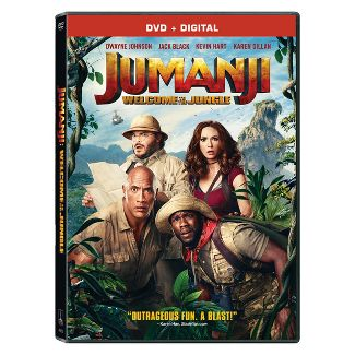 Jumanji: Welcome to the Jungle (DVD + Digital)