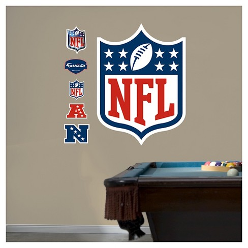 "NFL Fathead® Decorative Wall Art Set - 52""x4""x4"" - image 1 of 1"