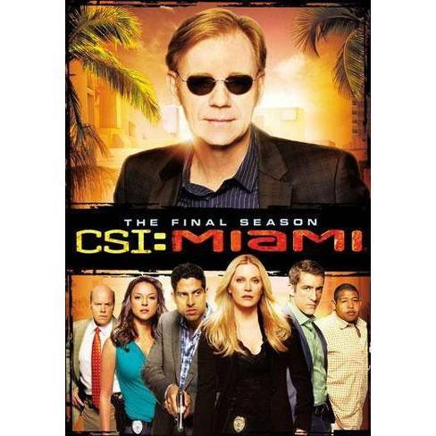CSI: Miami - The Final Season (DVD) - image 1 of 1