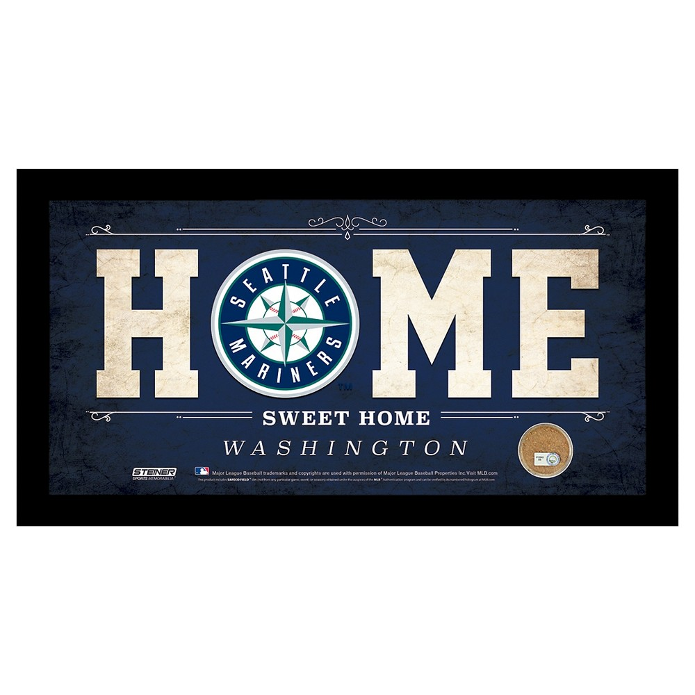 Seattle Mariners Steiner Sports Home Sweet Home Sign - 6x12 inch