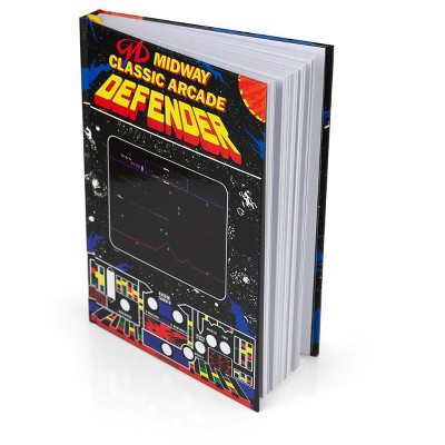 Crowded Coop, LLC Midway Arcade Games Hardback Journal - Defender