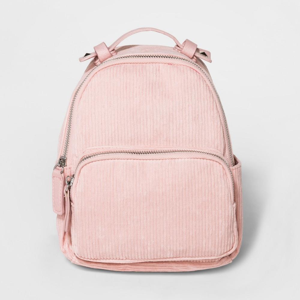 Girls' Corduroy Mini Backpack - art class Pink