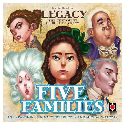 Legacy Five Families Board Games - image 1 of 1
