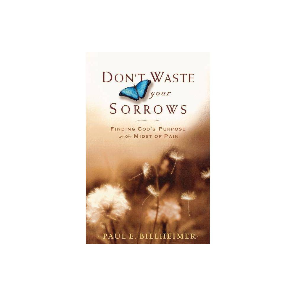 Don T Waste Your Sorrows By Paul E Billheimer Paperback
