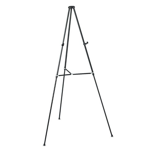"Quartet Lightweight Telescoping Tripod Easel Adjusts 38"" to 66"" High Aluminum Black 51E - image 1 of 1"
