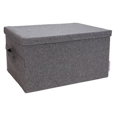 Bigso Box of Sweden Large Soft Storage Box Gray