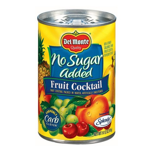 Del Monte No Sugar Added Fruit Cocktail in Water - 14.5oz - image 1 of 1