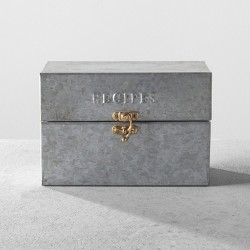 Metal Recipe Box - Hearth & Hand™ with Magnolia