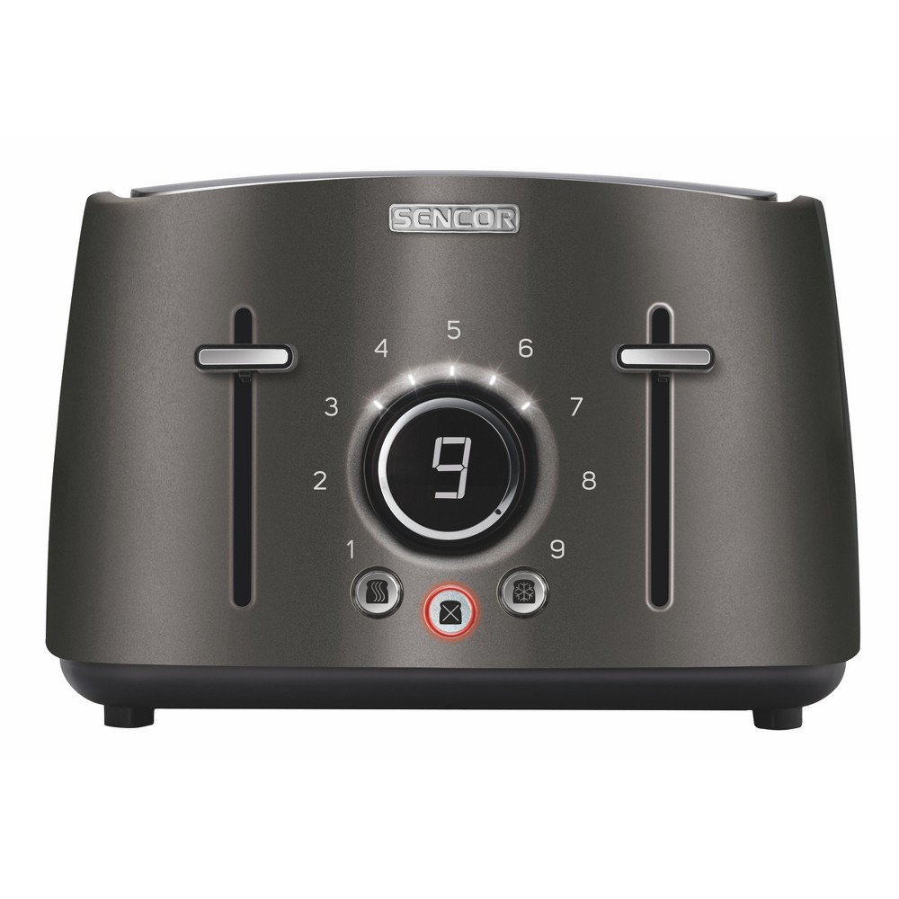 Sencor Metallic 4 Slice Toaster – Black 54281267