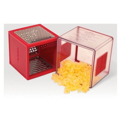 Microplane Box Grater Red
