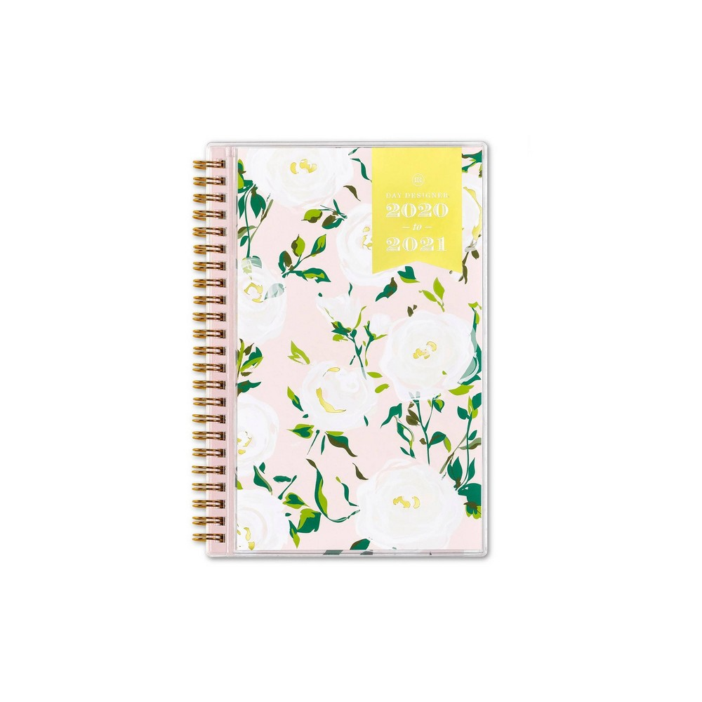"""Image of """"2020-2021 Academic Planner 5"""""""" x 8"""""""" Clear Pocket Cover Weekly/Monthly Wirebound Coming Up Roses - Day Designer"""""""