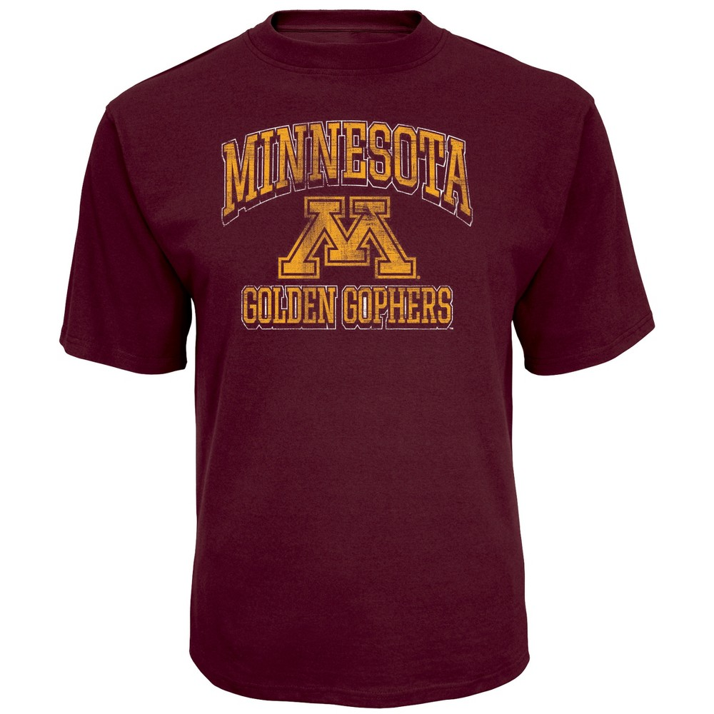 NCAA Men's Short Sleeve TC T-Shirt Minnesota Golden Gophers - Xxl, Multicolored