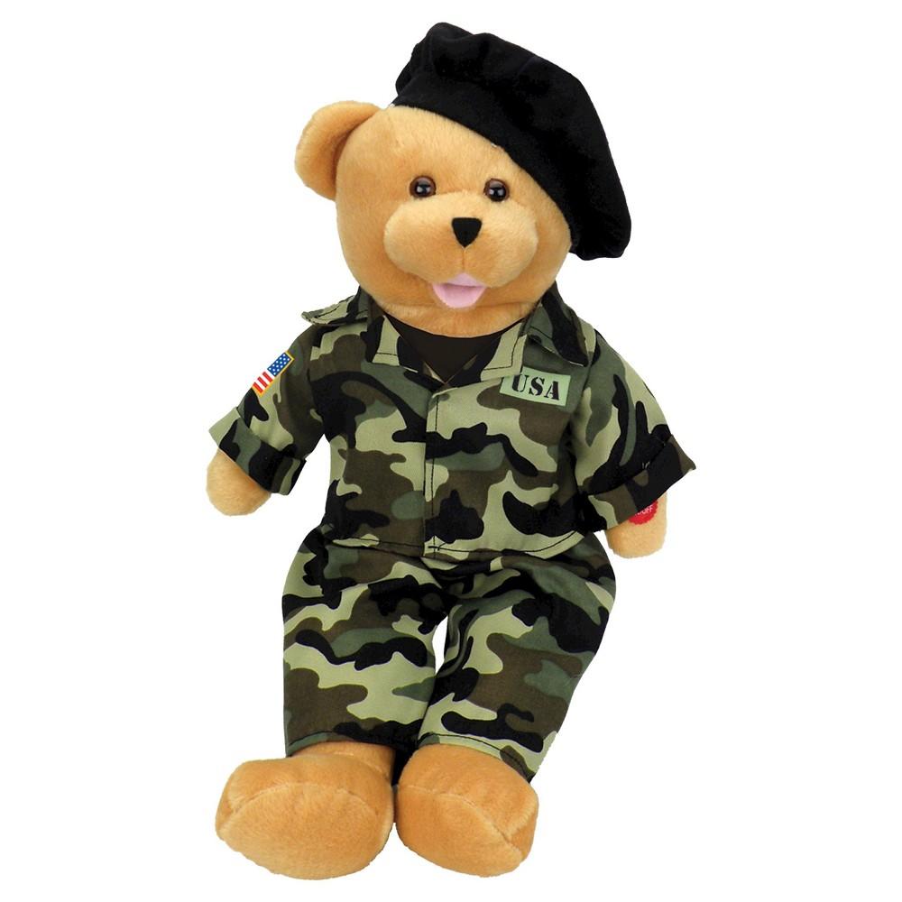 Chantilly Lane American Heroes Army Bear