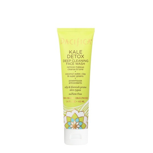 Pacifica Kale Detox Deep Cleaning Face Wash - 1.4 fl oz - image 1 of 3