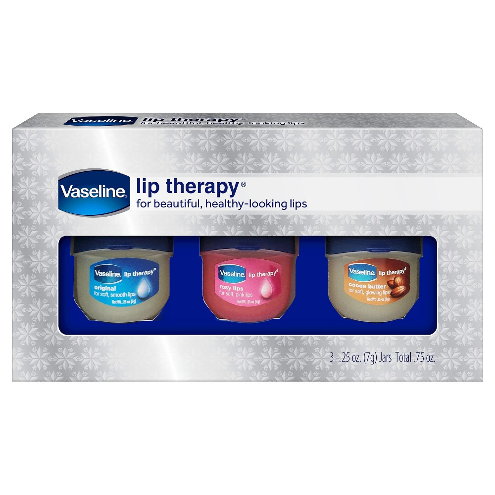 Vaseline Lip Therapy Holiday Gift Set