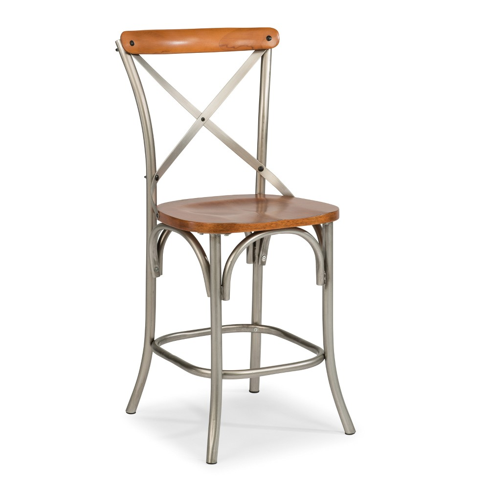 Orleans 44 Counter Stool Caramel - Home Styles, Brown