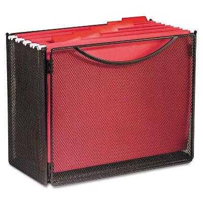 Safco Desktop File Storage Box Steel Mesh 12-1/2w x 7d x 10h 2169BL