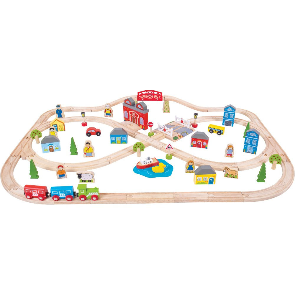 Town and Country Set, Toy Vehicle Playsets