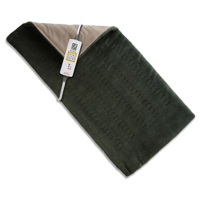 Sunbeam® King Size XpressHeat™ Heating Pad - Olive