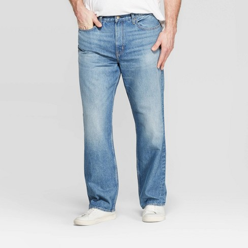 Men's Big & Tall Relaxed Fit Jeans - Goodfellow & Co™ Denim Blue - image 1 of 3