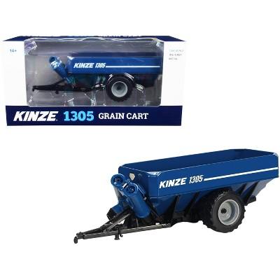 Kinze 1305 Grain Cart Blue 1/64 Diecast Model by SpecCast