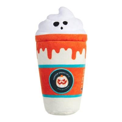 BARK Pumpkin Spooks Latte Dog Toy