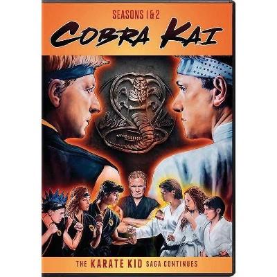 Cobra Kai Season 1 & 2 (DVD)