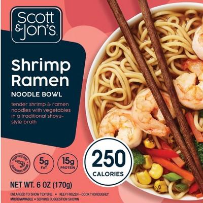 Scott & Jon's Shrimp Frozen Ramen Noodle Bowl - 8oz