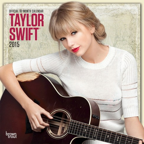 Taylor Swift 18-Month 2015 Calendar - image 1 of 2