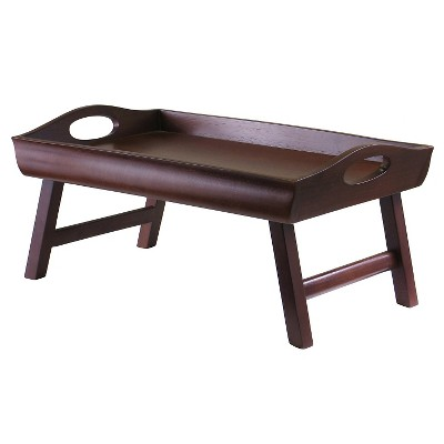 Winsome Sedona Breakfast Tray in Walnut Finish