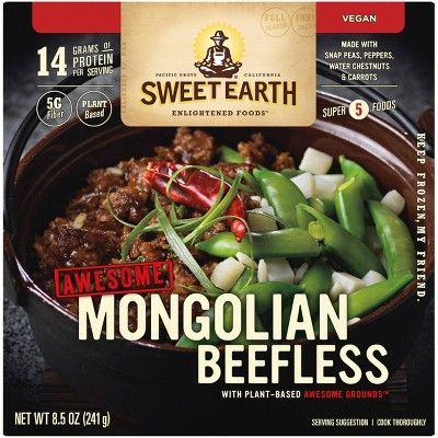 Sweet Earth Awesome Mongolian Beefless Bowl - 8.5oz
