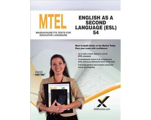 mtel english as a second language (esl) 54 teacher certification