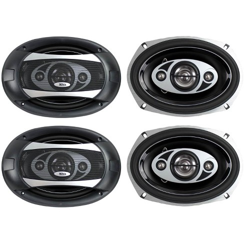 """BOSS AUDIO P694C 6x9"""" 4-Way 800W Car Coaxial Stereo Speakers P69.4C 4 Ohm - image 1 of 4"""