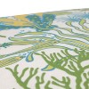 Outdoor Rounded Chair Cushion - Green/Blue Ocean Scene - image 3 of 4