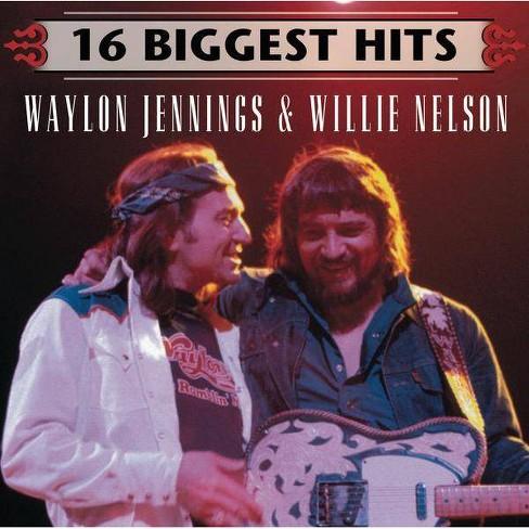 Waylon Jennings - 16 Biggest Hits: Waylon Jennings & Willie Nelson (CD) - image 1 of 1