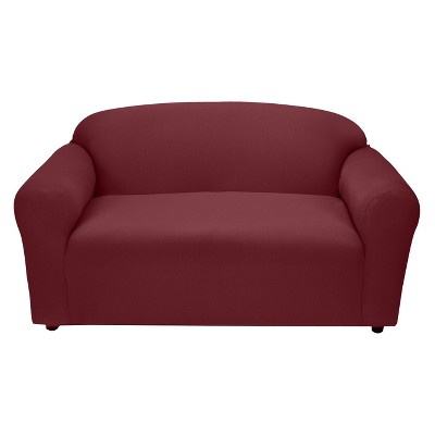 Ruby Jersey Loveseat Slipcover - Madison Industries
