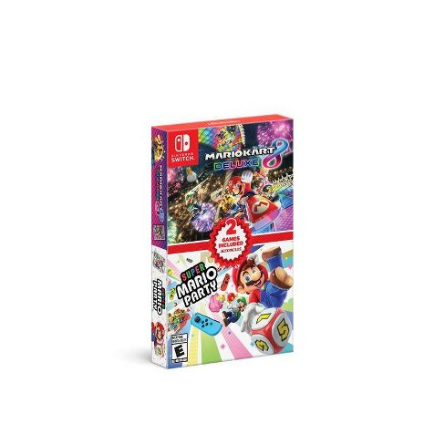 Mario Kart 8 Deluxe + Super Mario Party Double Pack - Nintendo Switch - image 1 of 4