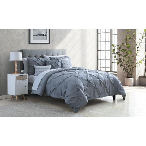 VCNY Home Carmen Pintuck Bed-in-a-Bag Comforter Set - image 1 of 4